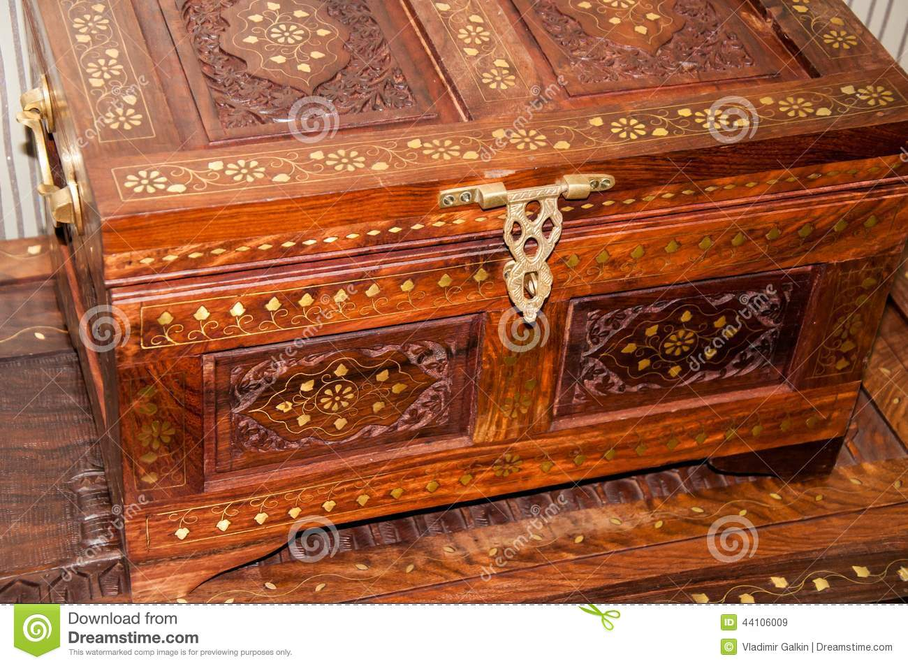 Moroccan pattern on household items