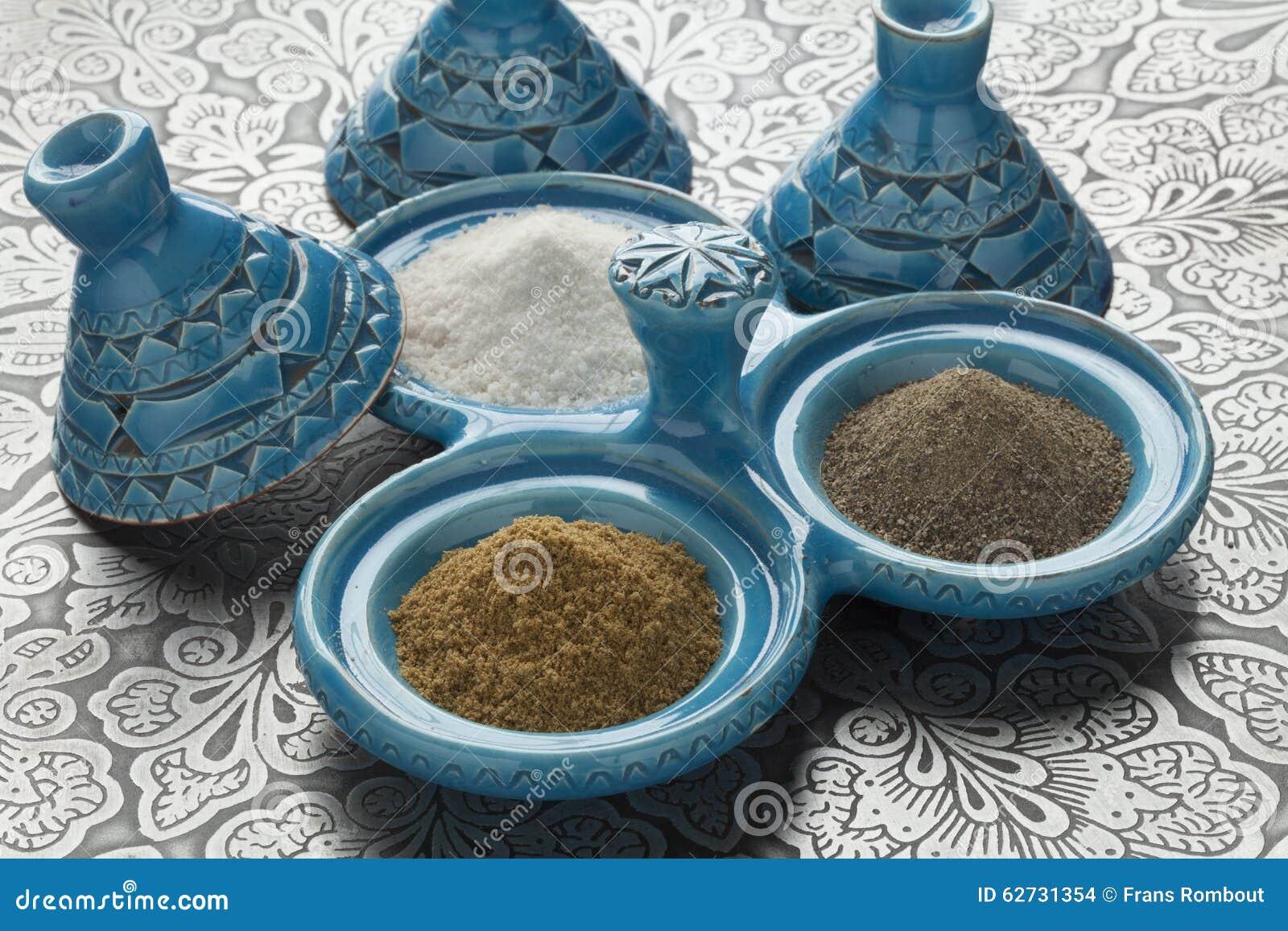 Moroccan Pepper,salt And Cumin Bowl
