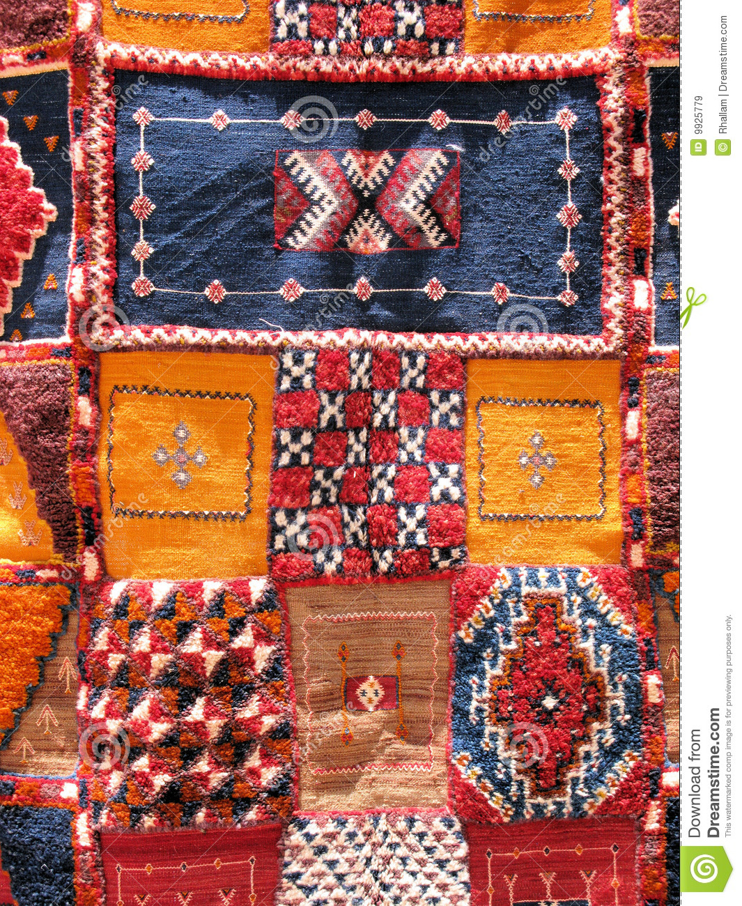 Moroccan Rugs Stock Image Image Of Yellow Home Moroccan