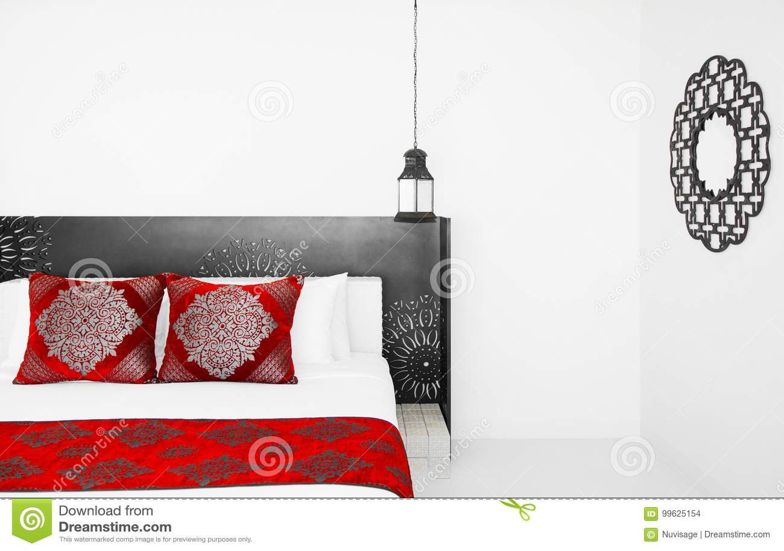 Moroccan Style Bedroom, Moroccan Decoration Editorial Stock ...