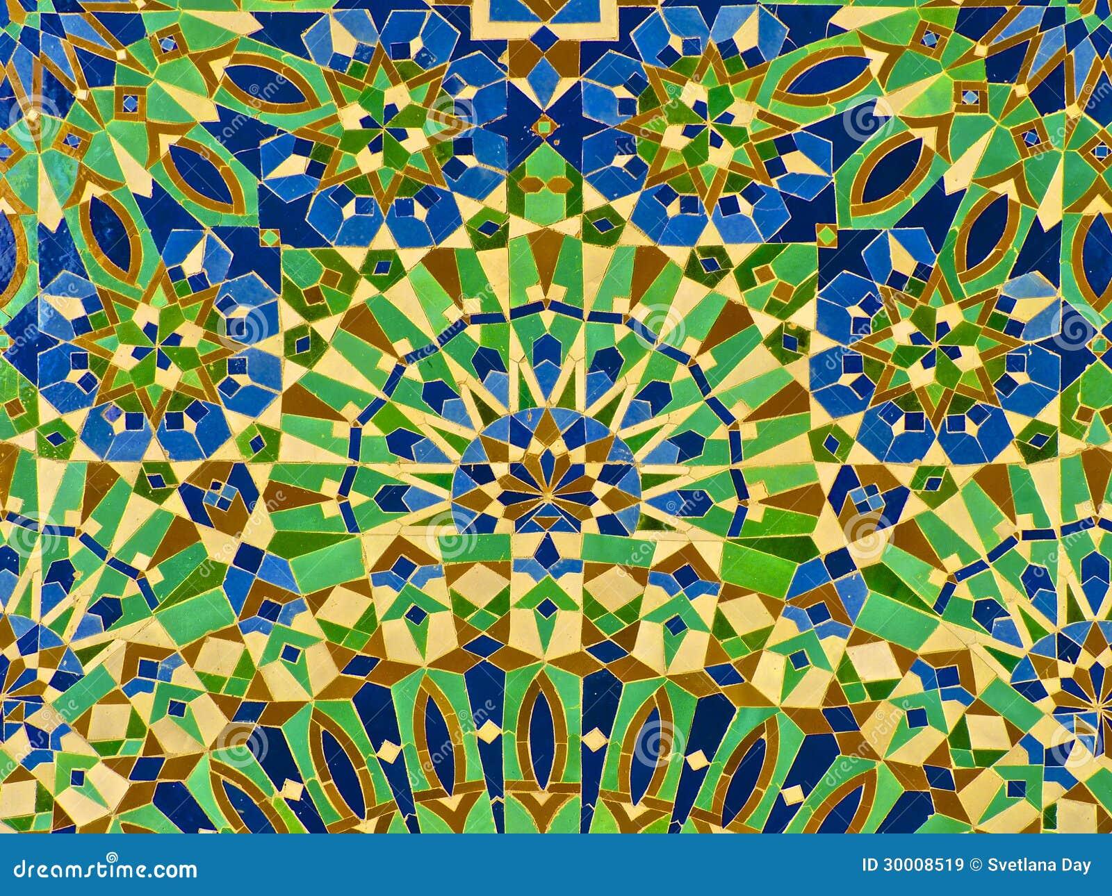 Moroccan Zellige Tile Stock Image Image Of Zilij