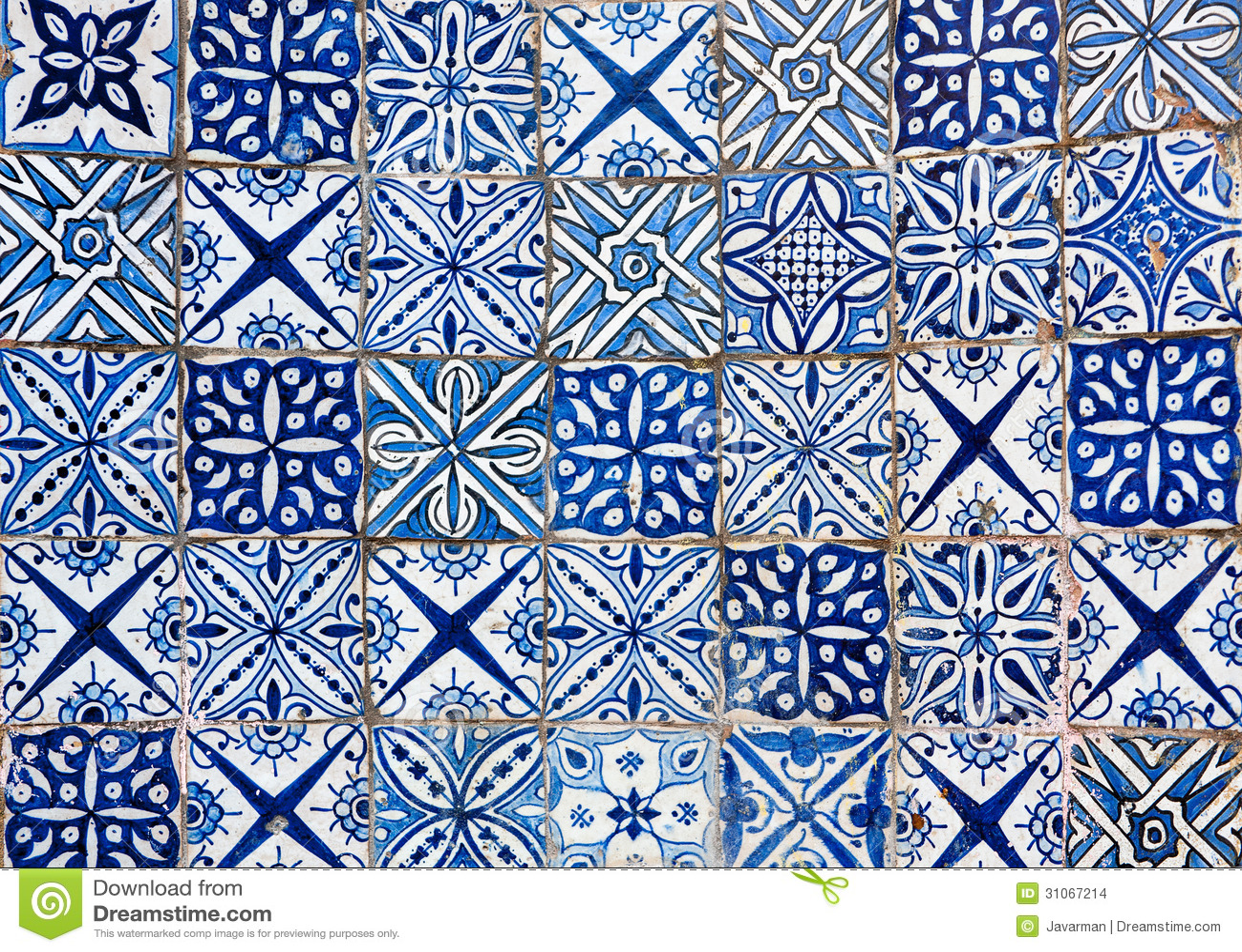 Moroccan Vintage Tile Background Illustration 31067214 - Megapixl
