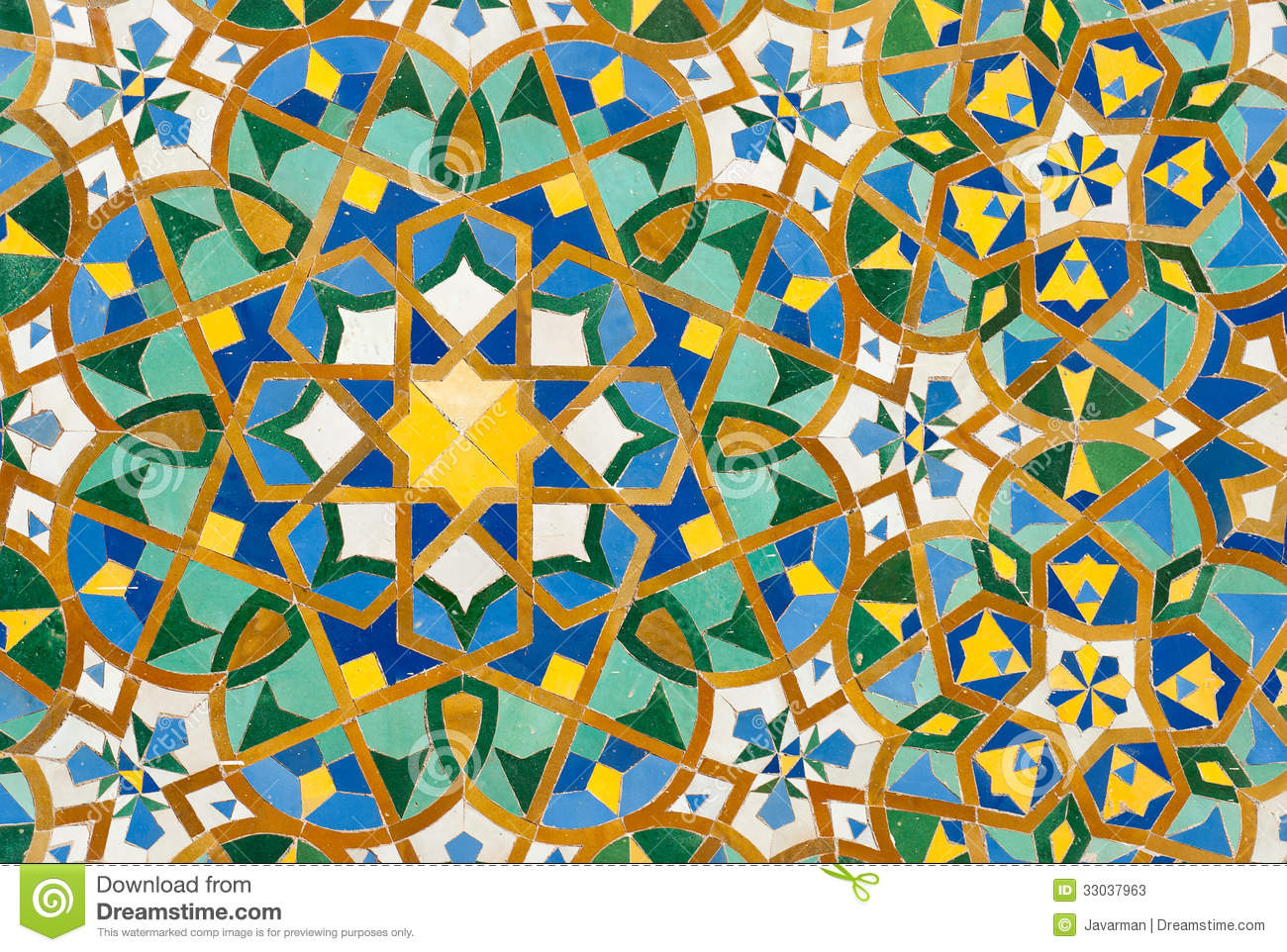 Moroccan Vintage Tile Background Stock Photos Image