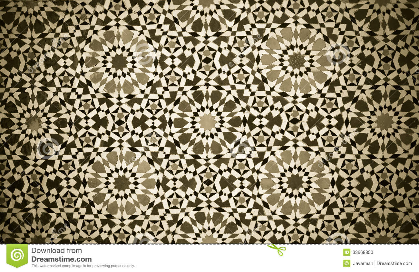 Moroccan vintage tile background stock photo image 33668850