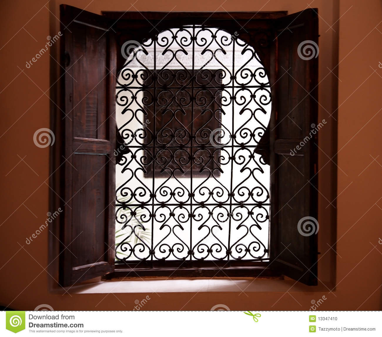Moroccan Window Stock Photo Image Of Design Ancient