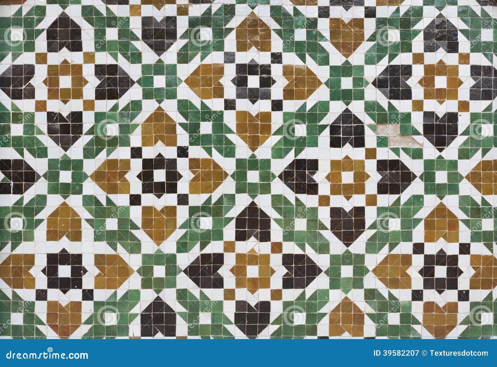 Moroccan zellige tile stock image image of mosaic tile