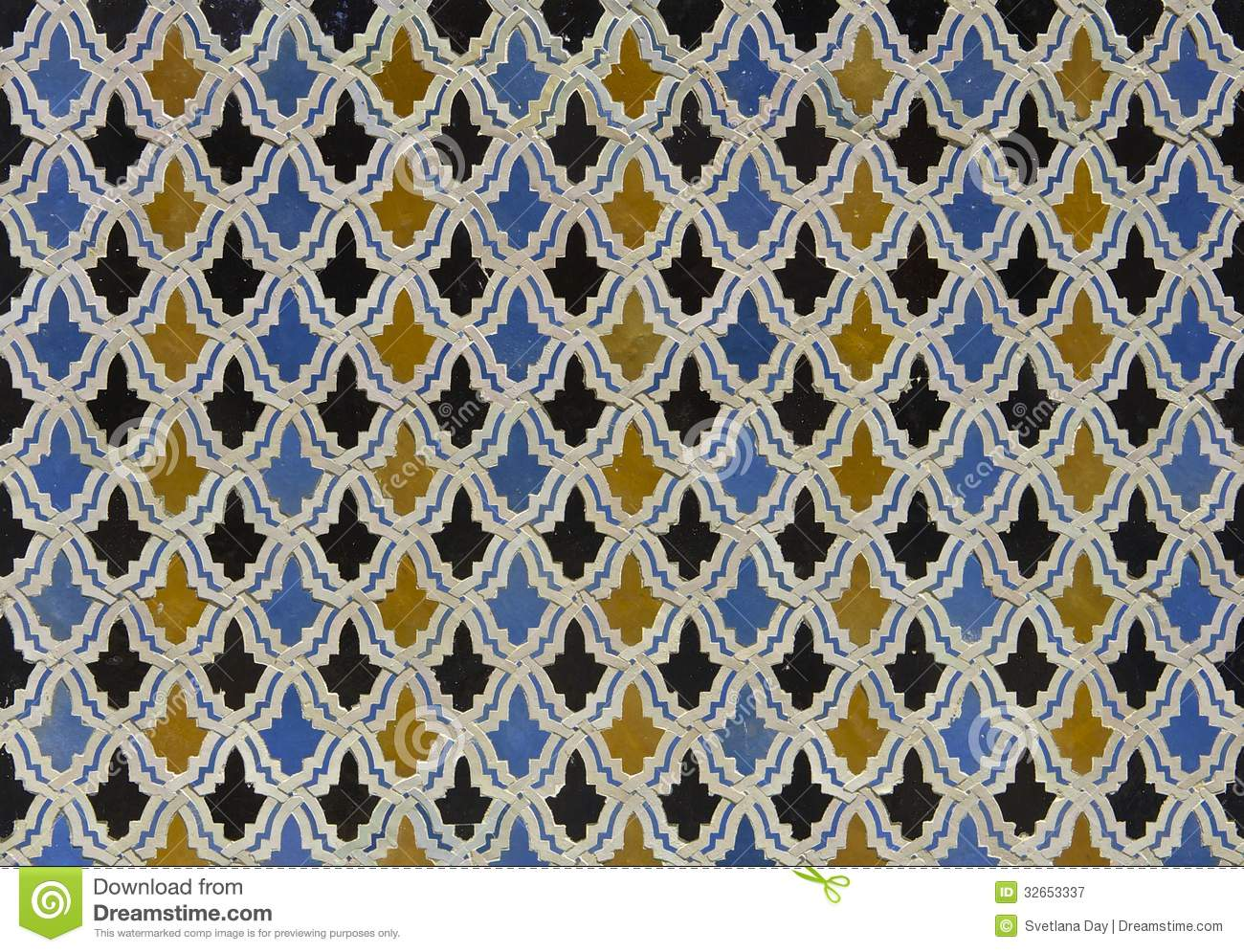 Moroccan Shape Clipart Moroccan-zellige-tile-pattern- ...
