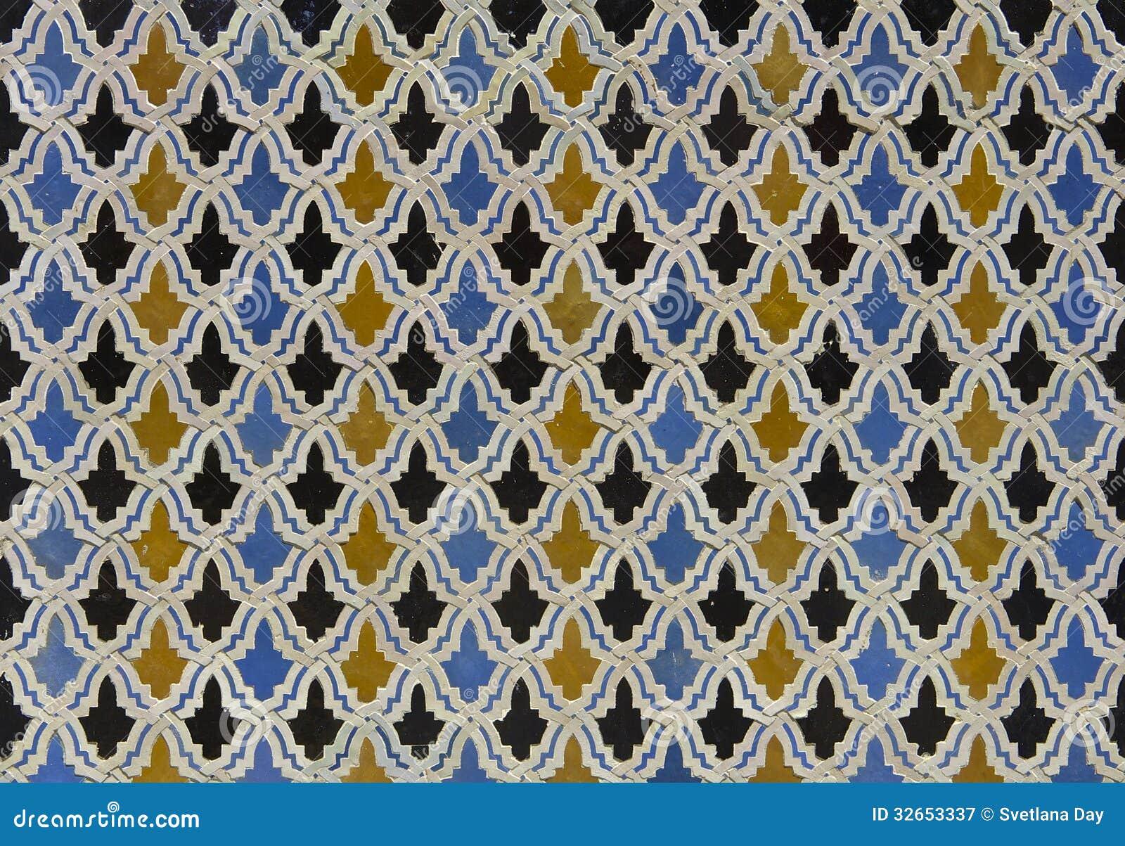 moroccan zellige tile pattern royalty free stock. Black Bedroom Furniture Sets. Home Design Ideas