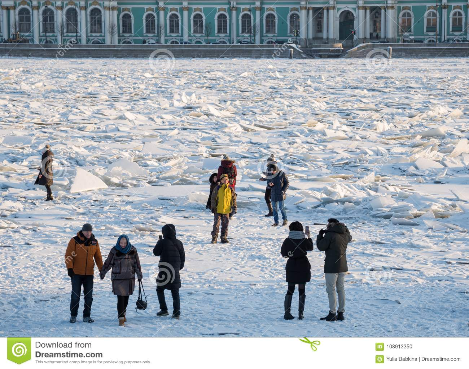 Morones en Neva River