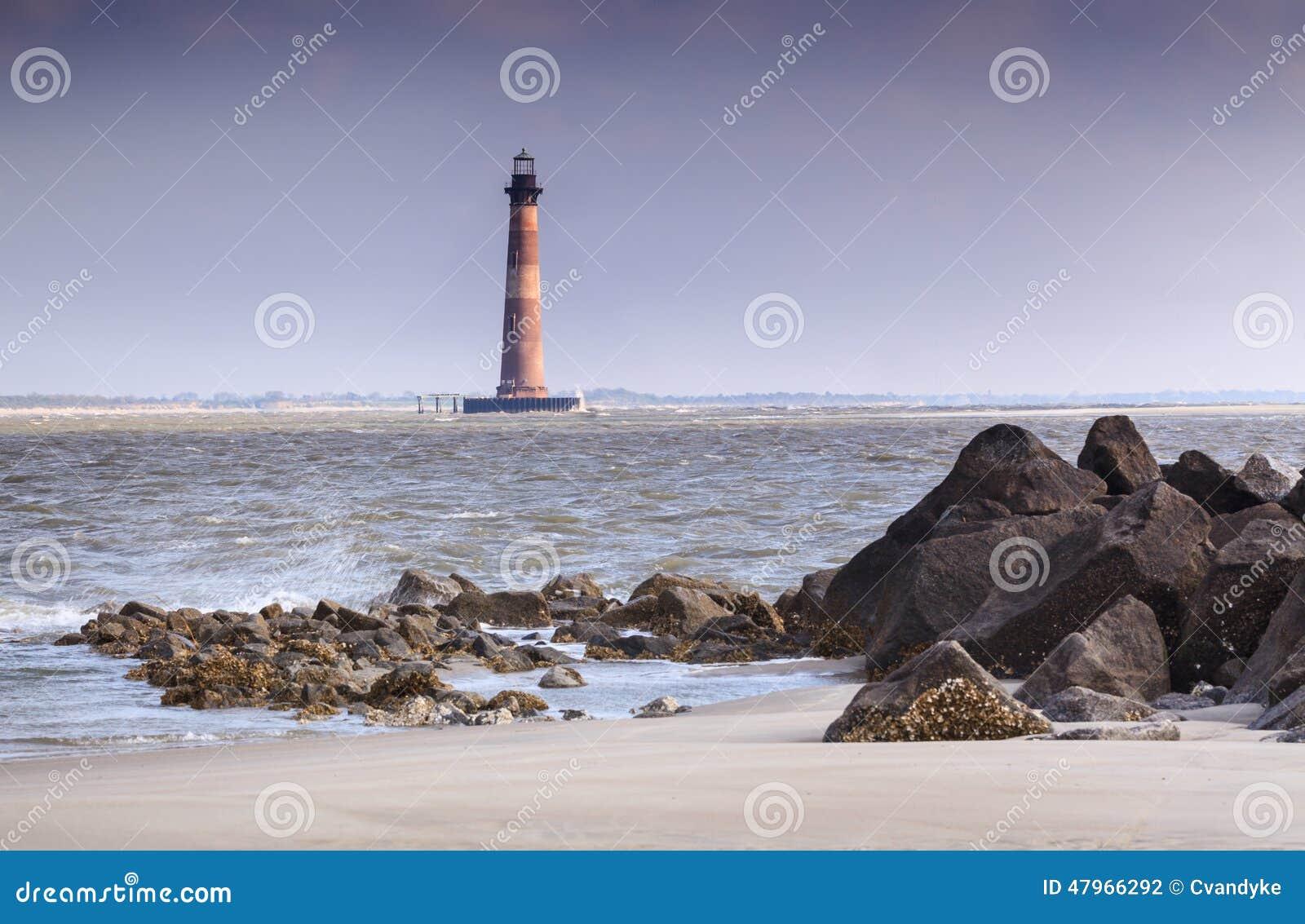 Morris Island Lighthouse Charleston South Carolina