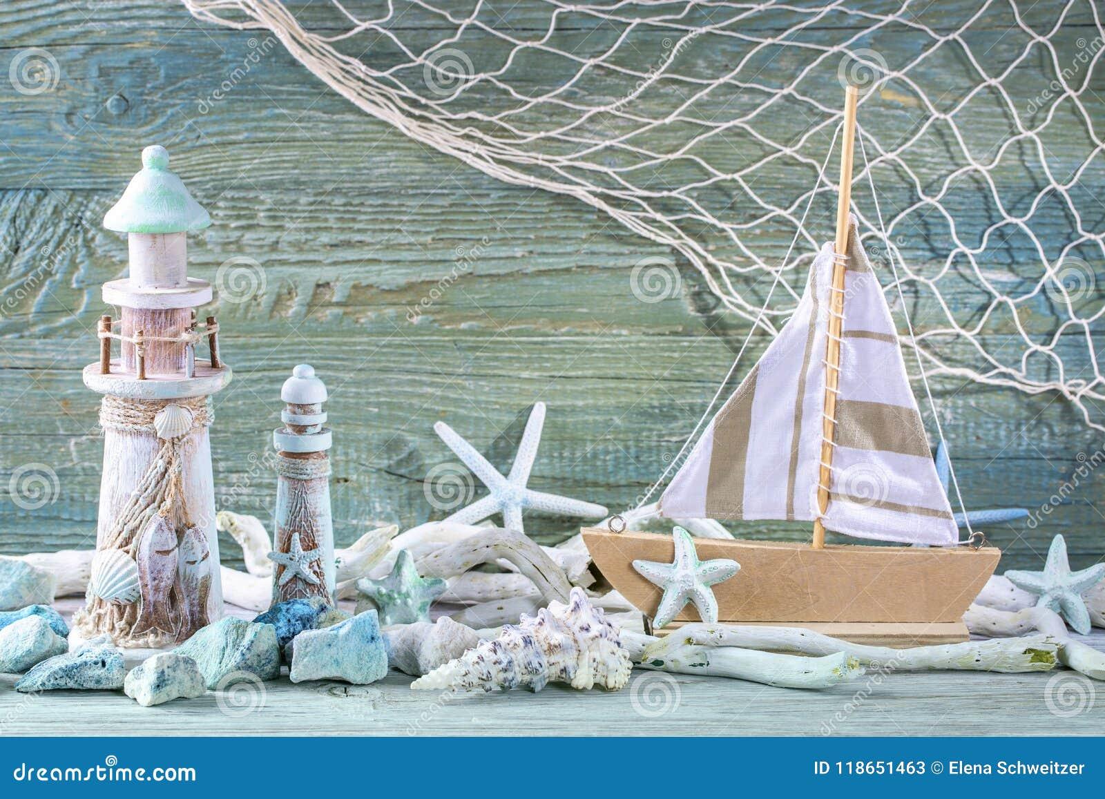 Morskiego życia dekoracja