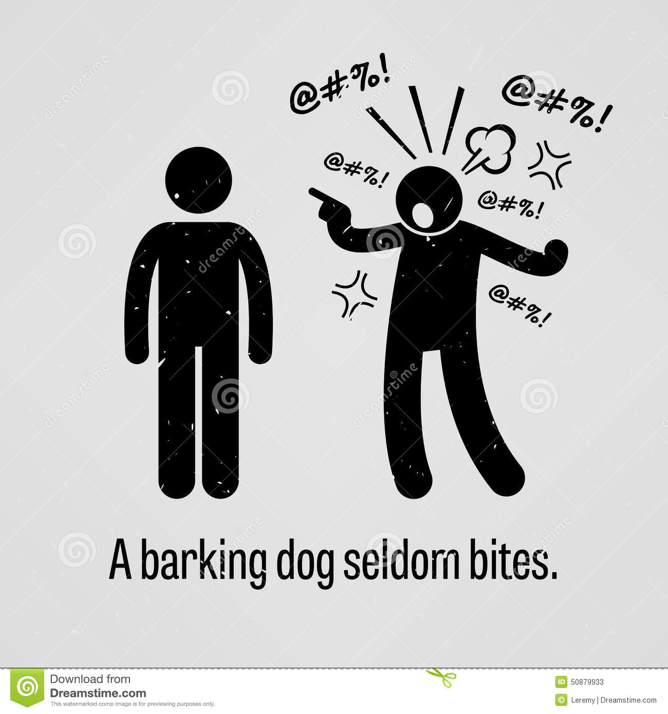 A Barking Dog Doesn T Bite Meaning