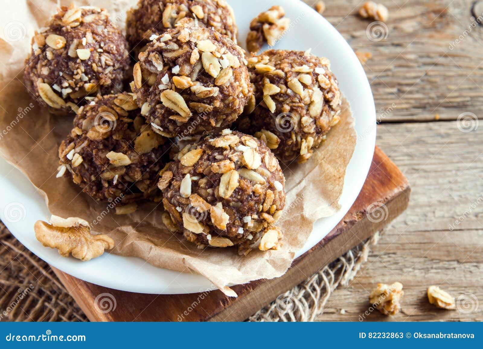 Morsures de granola d énergie