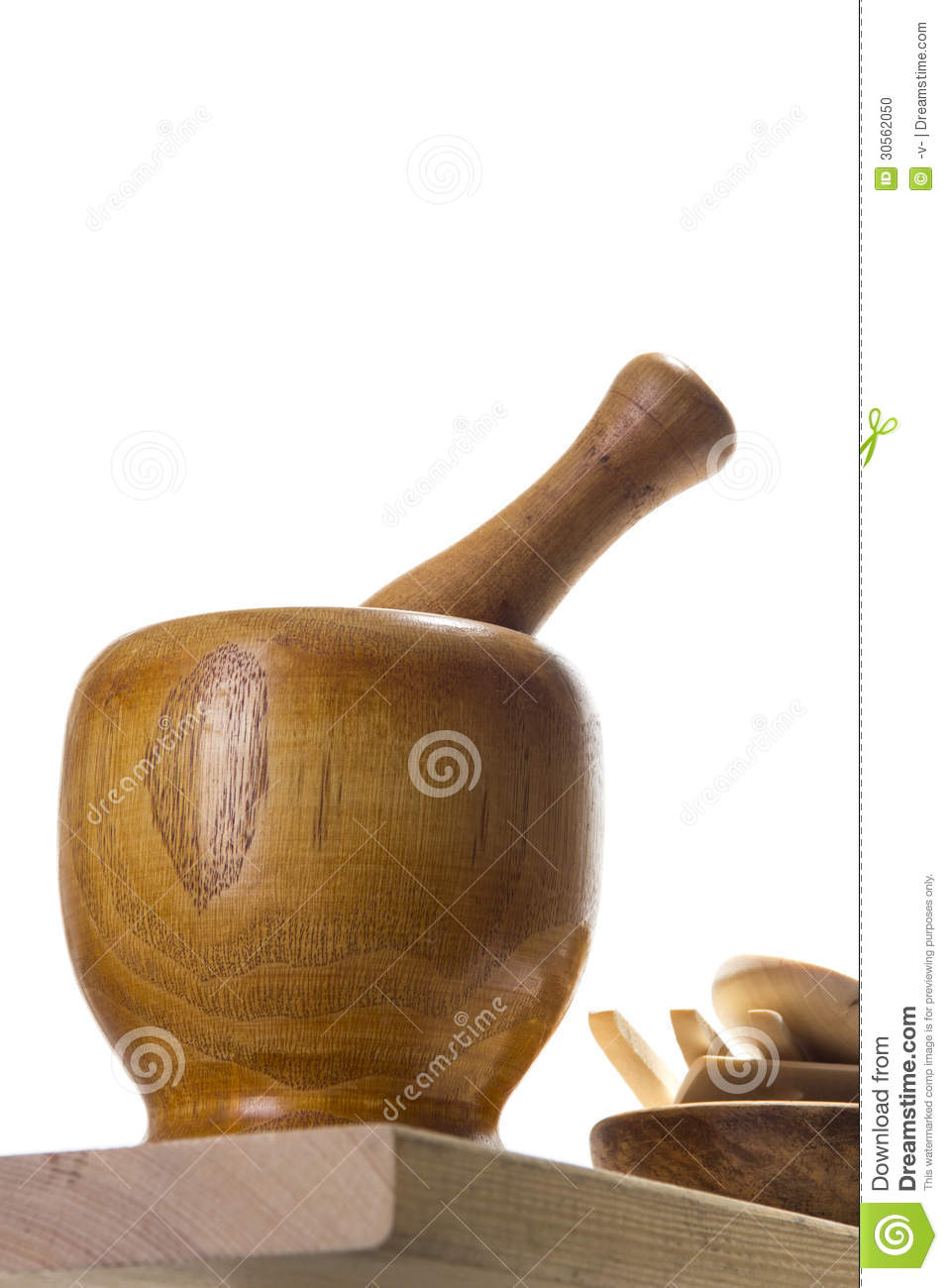 Mortar and pestle stock photo image 30562050 for Traditional kitchen equipments