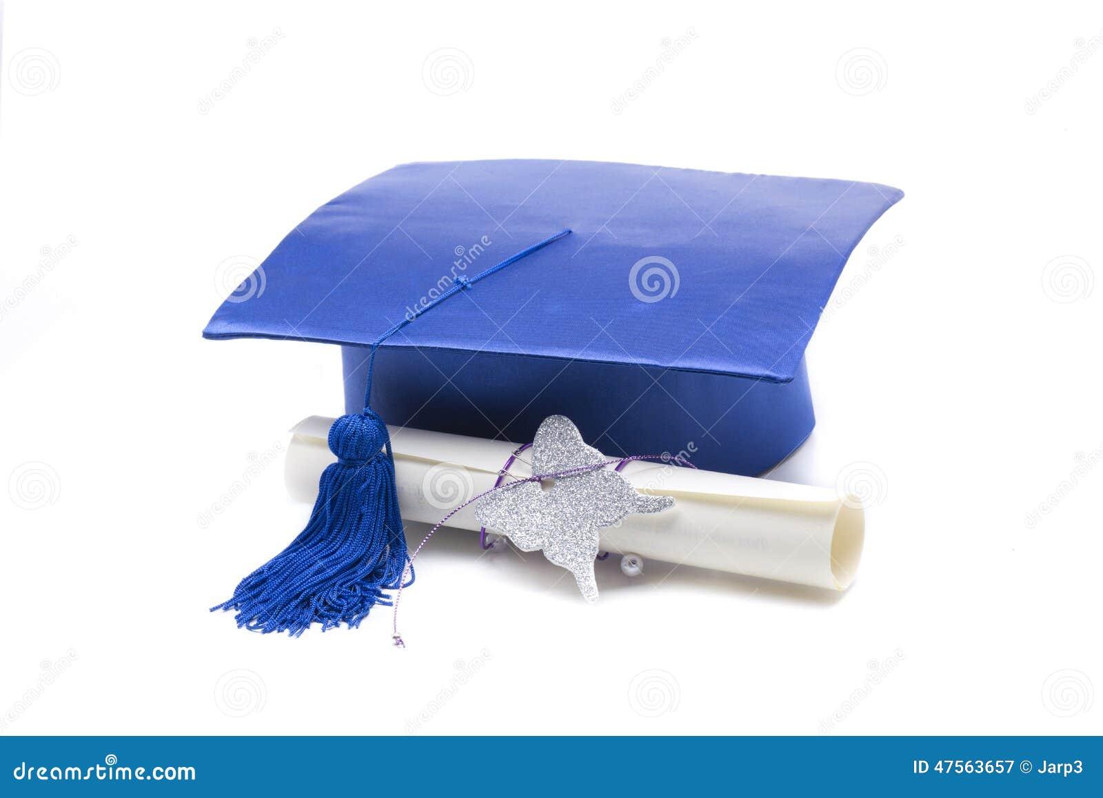 Diploma Gorro Egresados Dibujos