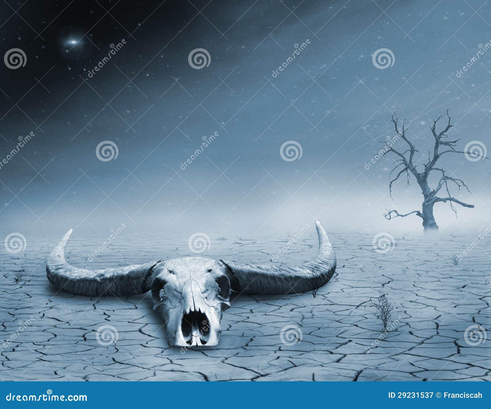 Download Morte no deserto imagem de stock. Imagem de árvore, fundo - 29231537