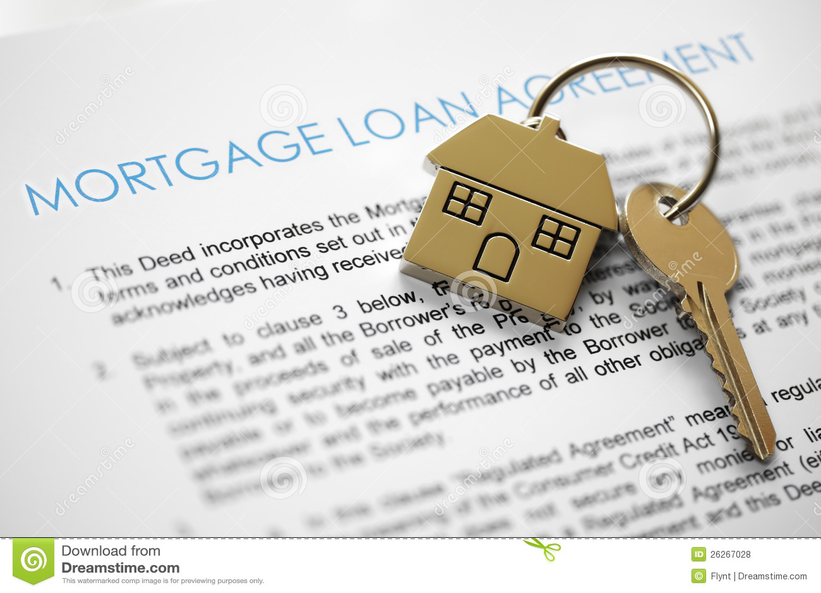 Mortgage Application Royalty Free Stock Photos - Image: 26267028