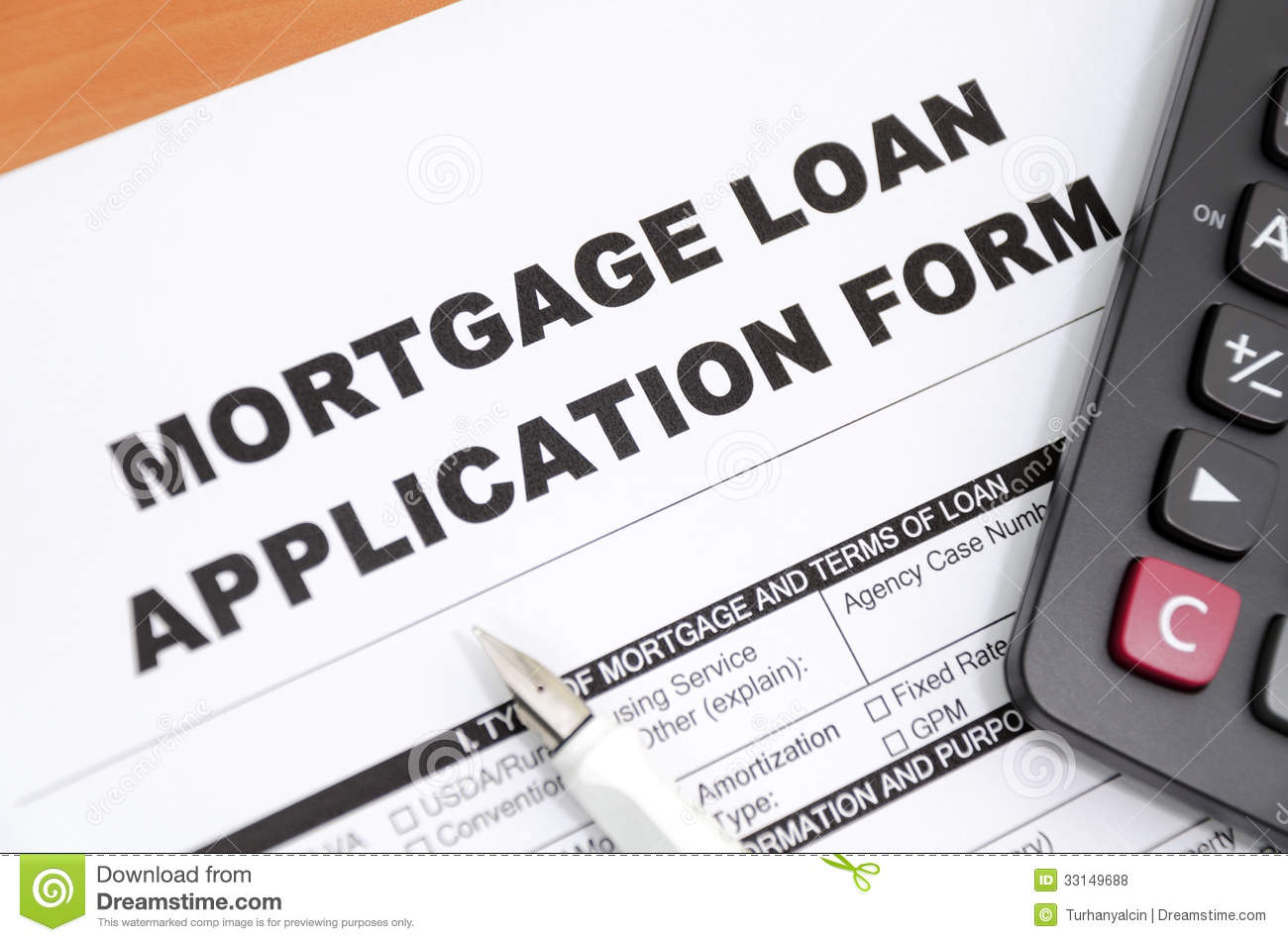 Mortgage Loans: Application For Mortgage Loan