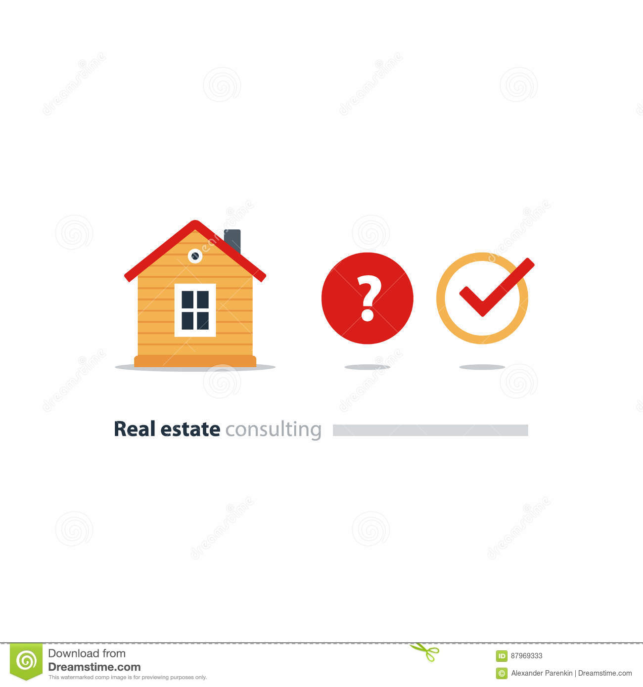 Mortgage Loan Approval Concept Housekeeping Solution