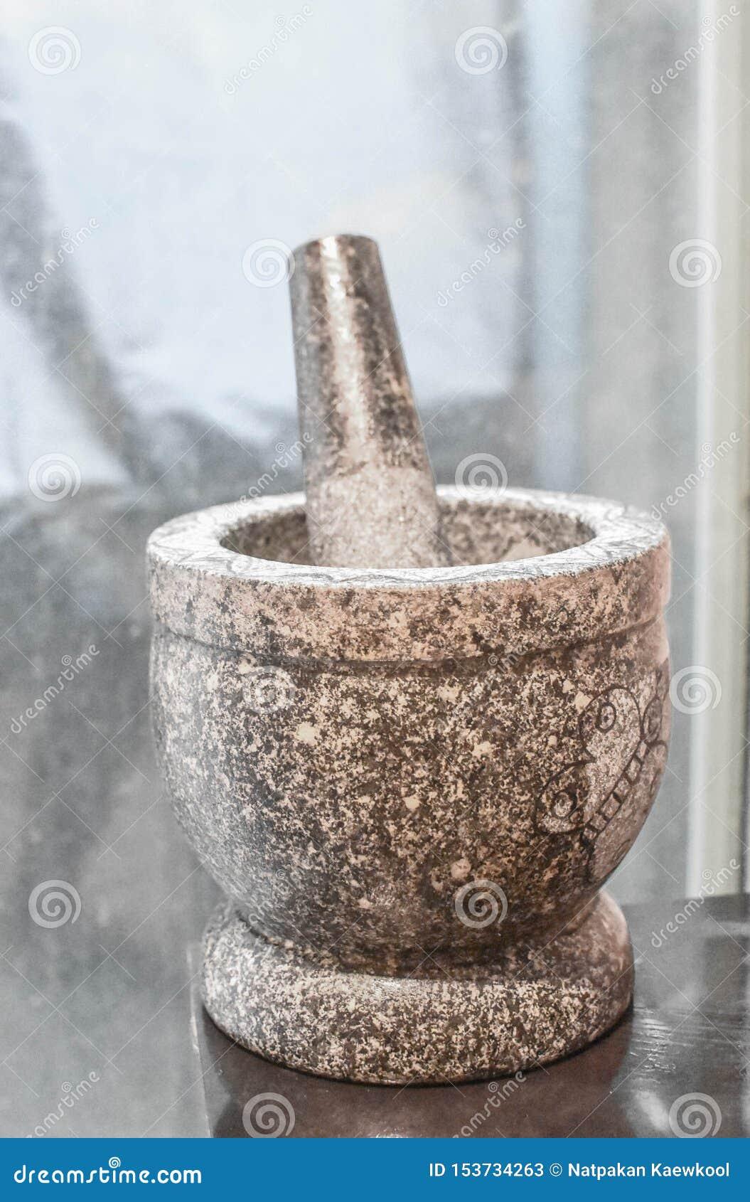 Mortier, Spaanse peperdeeg en het koken