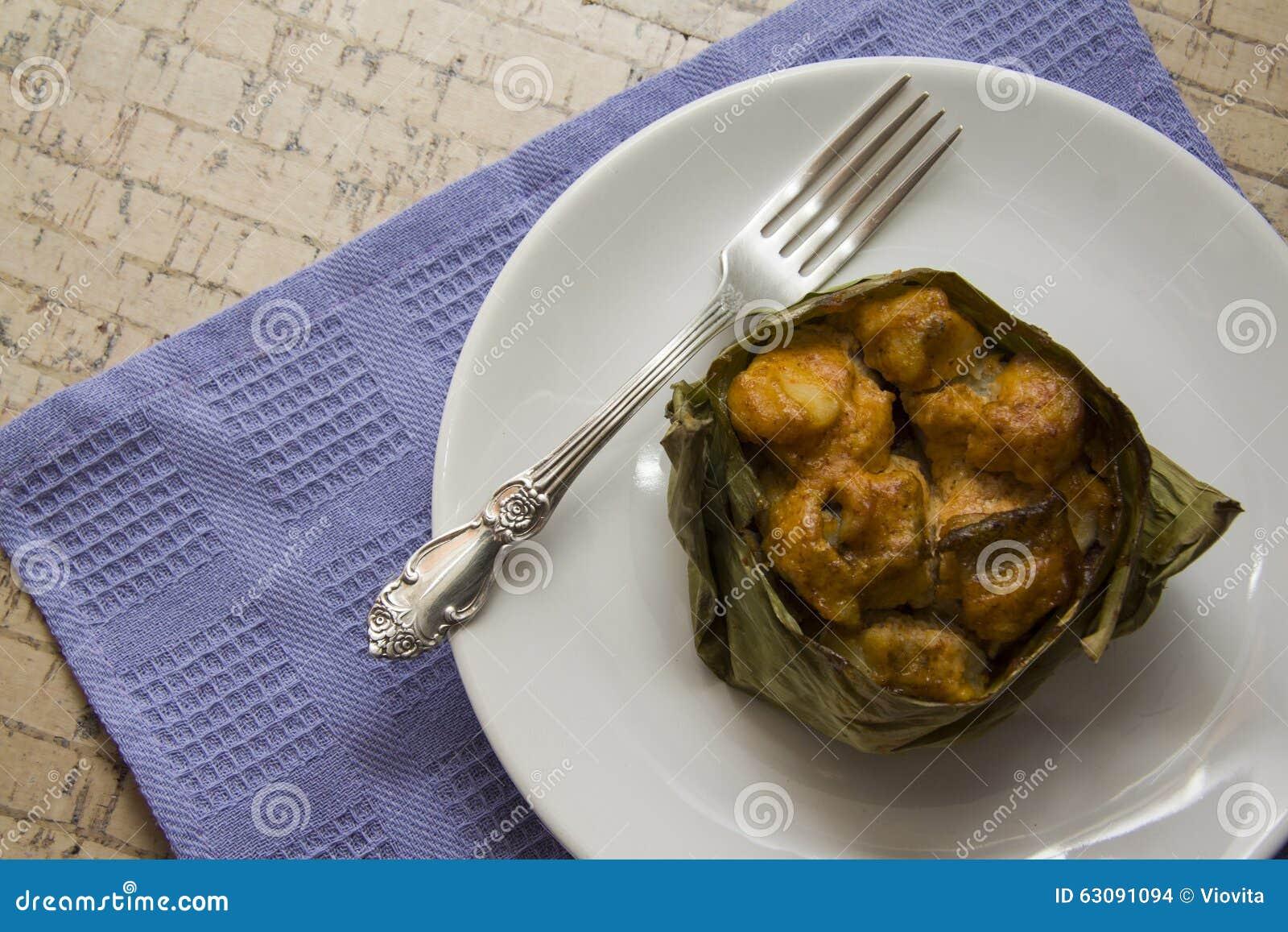 Download Morues préparées photo stock. Image du grillé, personne - 63091094