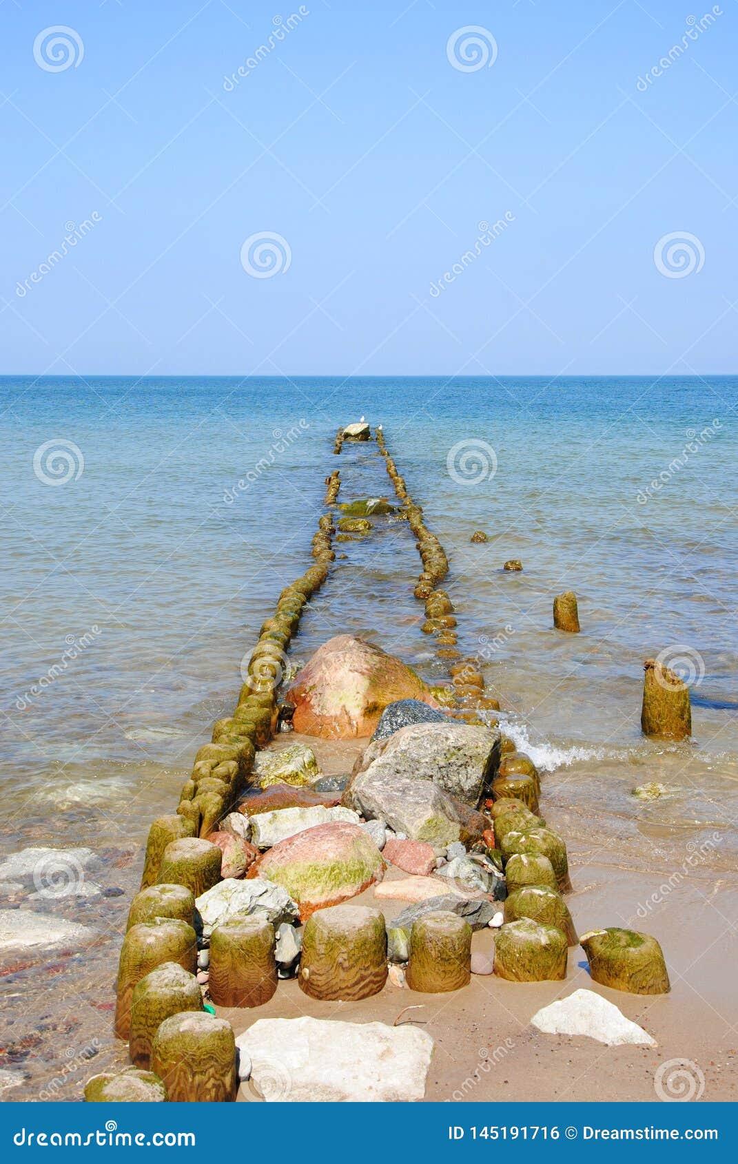 Morze Ba?tyckie od brzeg Svetlogorsk