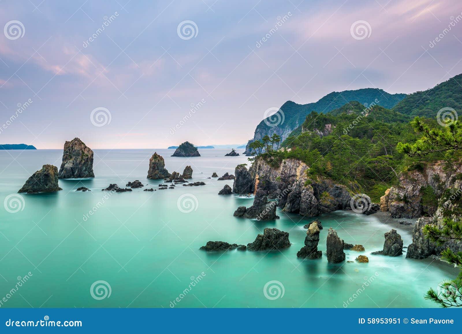 Morze Japonia wybrzeże