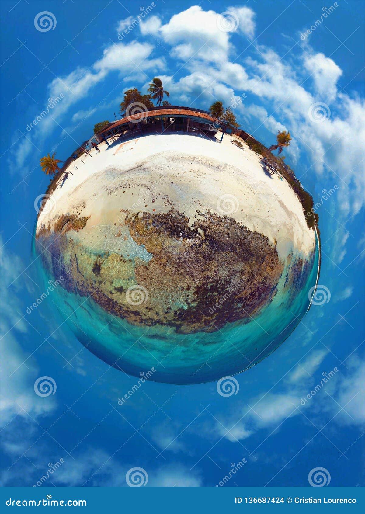 Morze Karaibskie, Los Roques Być na wakacjach w błękitnych dennych i opustoszałych wyspach pokój
