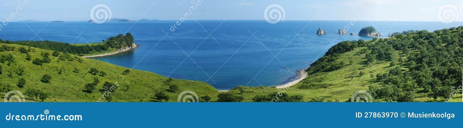 Morze krajobraz.