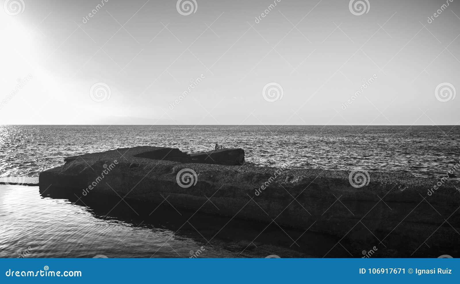 Morze krajobraz w Tenerife wyspa kanaryjska Tenerife