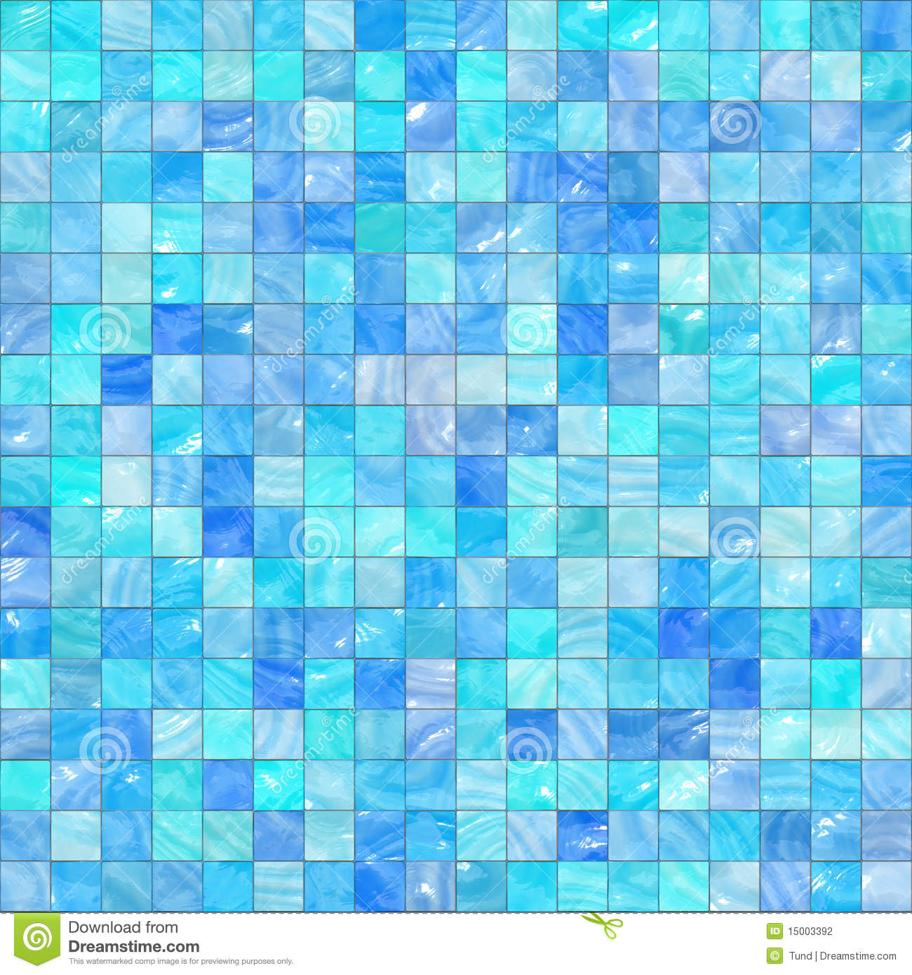 Mosaïque bleue illustration stock. Illustration du conception - 15003392