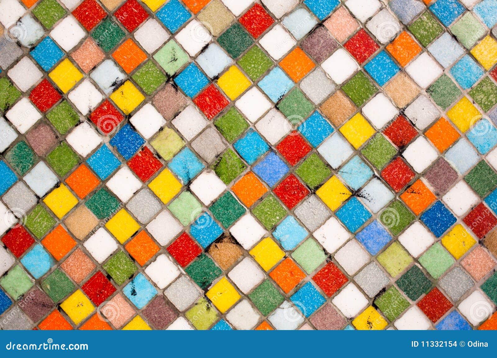 Mosaique Multicolore Photo Stock Image Du Multicolore 11332154