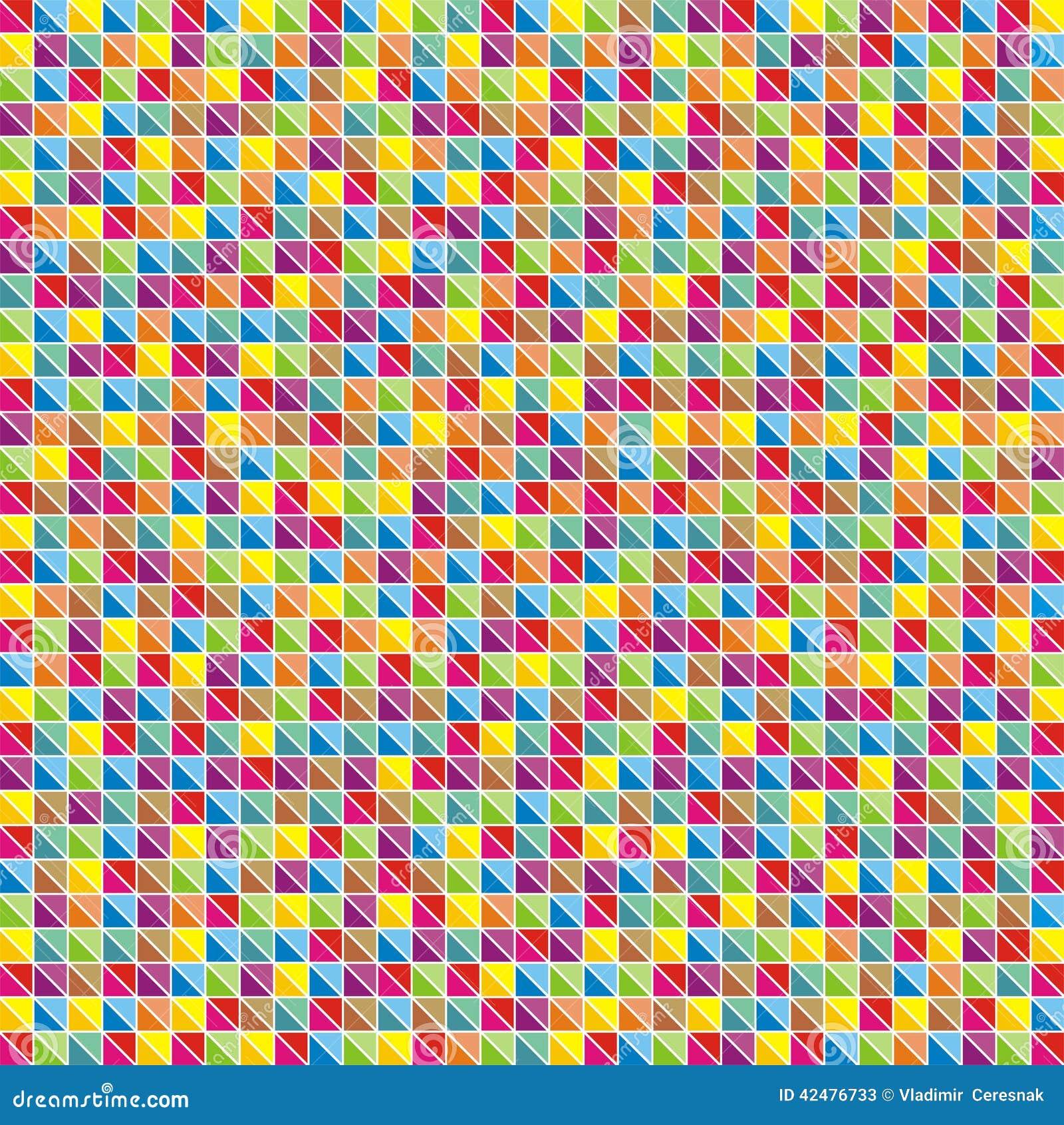Mosaique Multicolore Des Triangles Illustration De Vecteur Illustration Du Multicolore Triangles 42476733