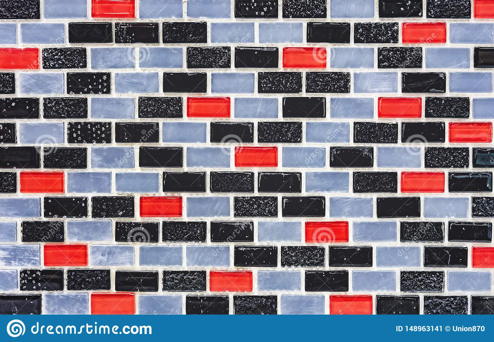 Ceramic Tile Mosaic Background And Texture Tile Mosaic Tile Mosaic In The Interior Of The Bathroom Or Kitchen Image Stock Image Du Tile Texture 148963141