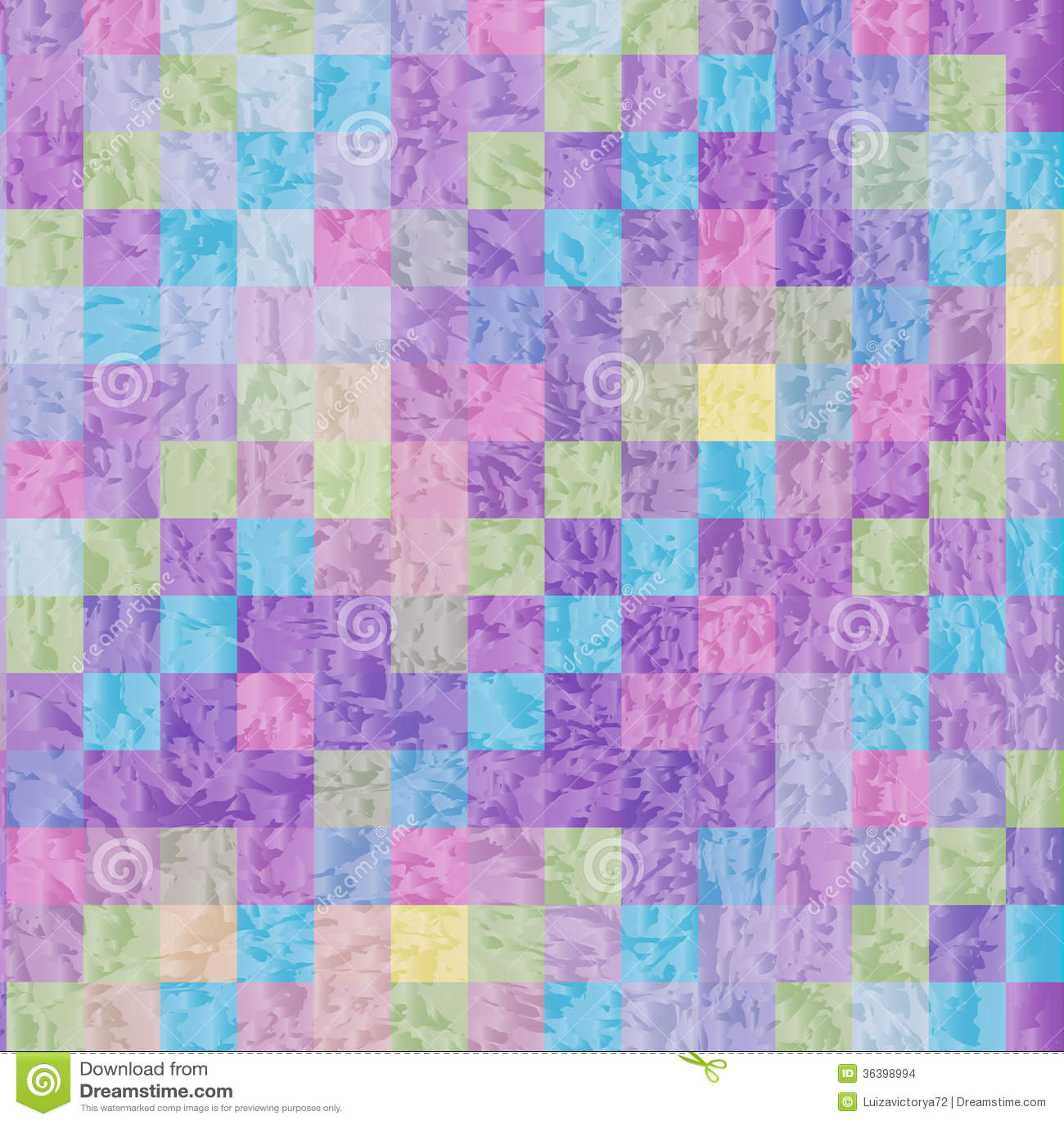 Mosaic Background For Design Cover Wallpaper Stock Illustration