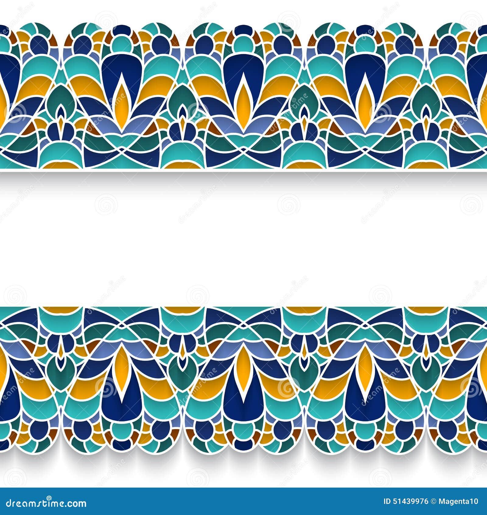 mosaic borders