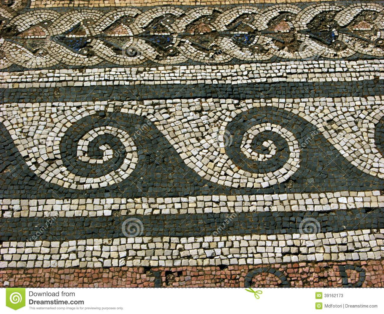 Mosaic in delos greece stock photo image 39162173 - Table mosaique rectangulaire ...