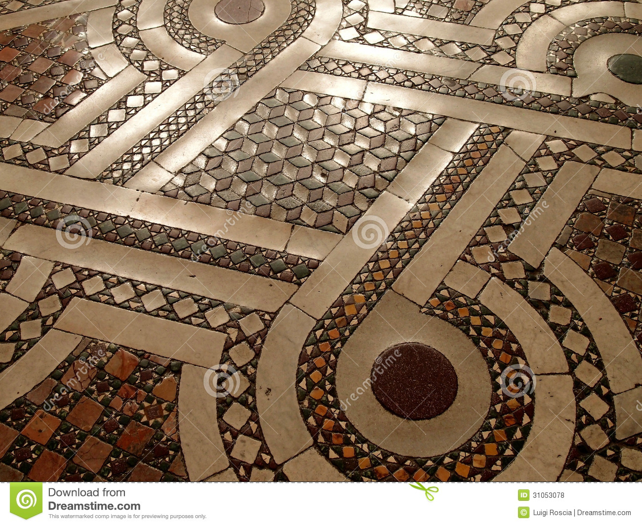 Mosaic Floor Royalty Free Stock Photos Image 31053078