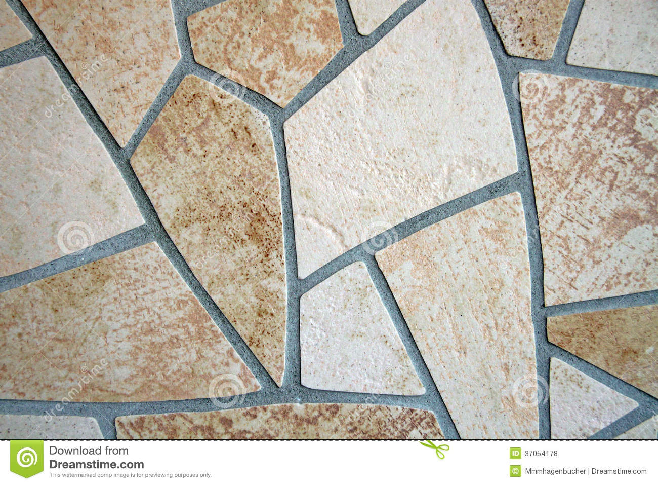Mosaic of Floor Tiles stock photo. Image of soil, unstructured ...