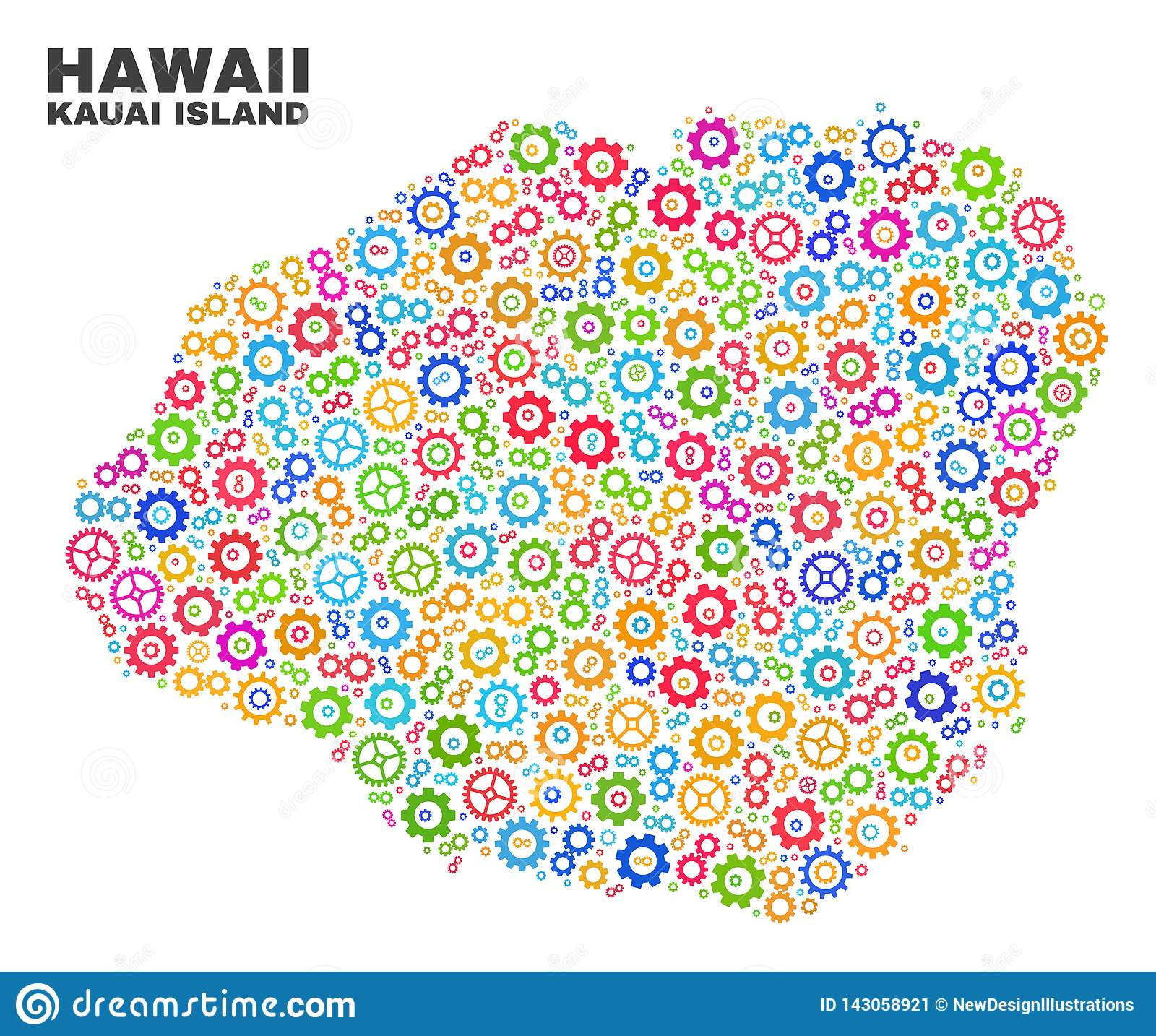 Mosaic Kauai Island Map Of Cogwheel Items Stock Vector ... on molokai island map, corpus christi island map, kauai hawaii, kihei island map, kauai places to visit, rome island map, new orleans island map, oahu map, kilauea map, lanai island map, mississippi island map, oregon island map, connecticut island map, ohio island map, lihue island map, maui island map, virginia island map, myrtle beach island map, san jose island map, hawaii map,