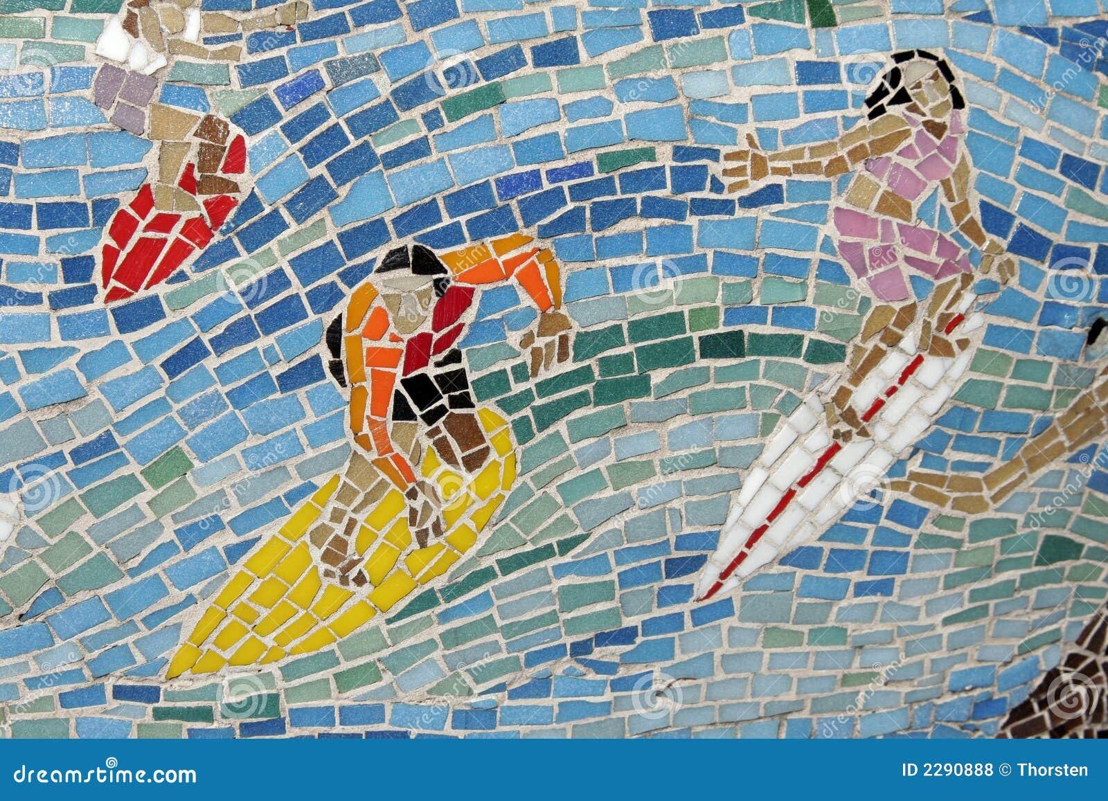 Mosaic Surfer, Background
