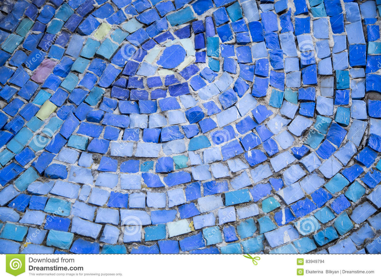 Mosaic Tile Background. Mosaic Decoration In Different Colors Stock ...