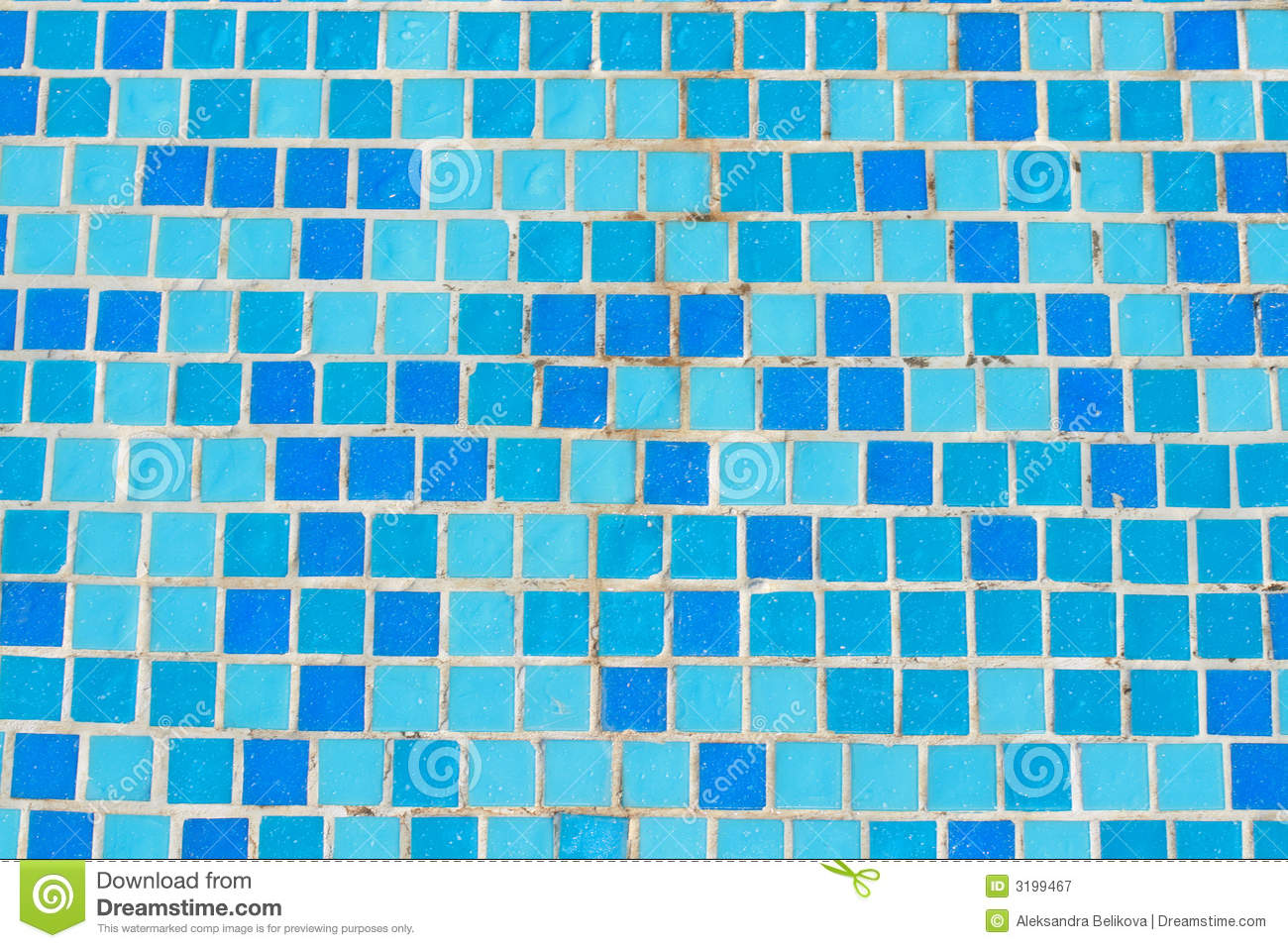 Mosaic tile in pool royalty free stock photography image
