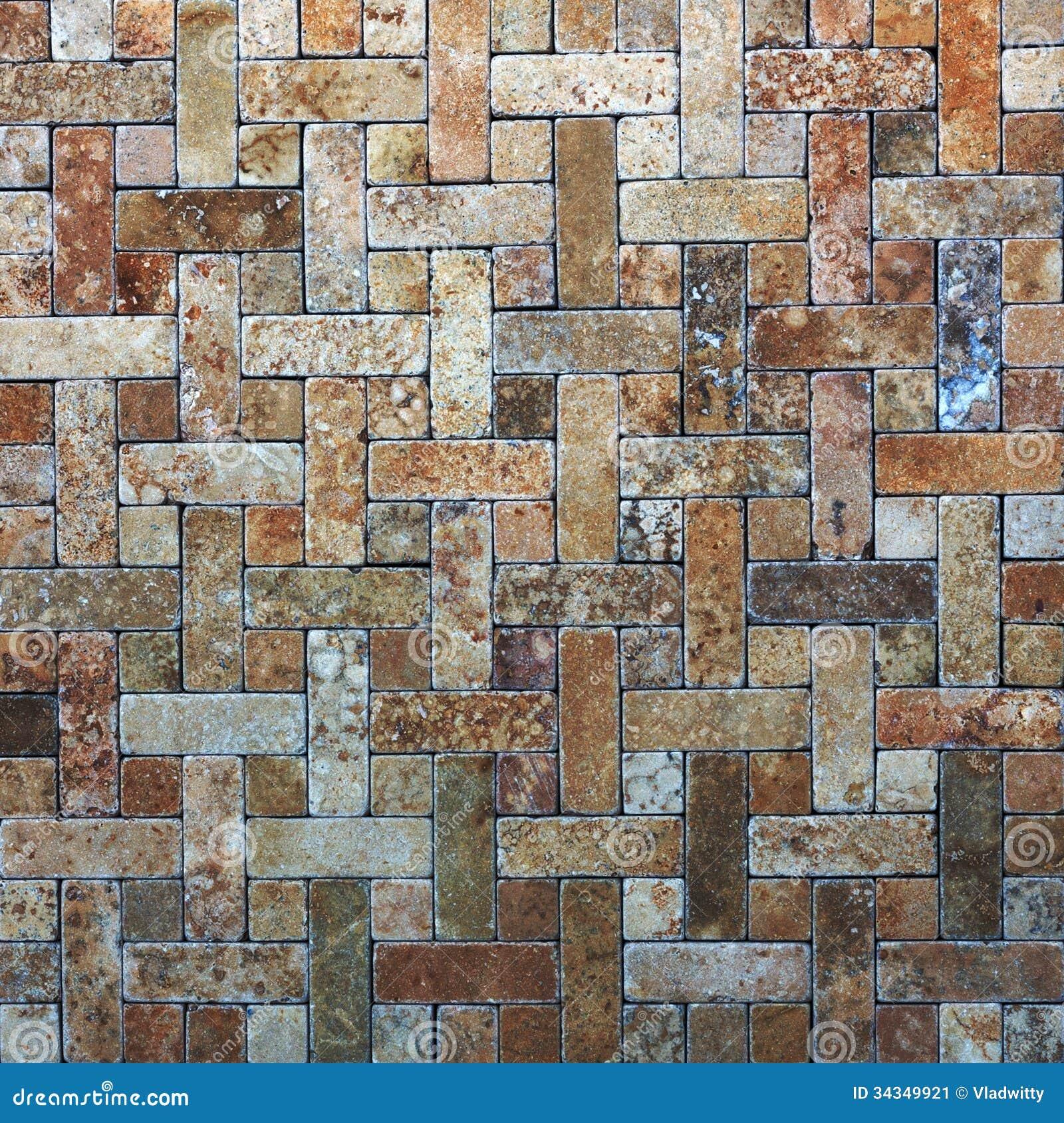 Mosaic tiles texture stock image image 34349921