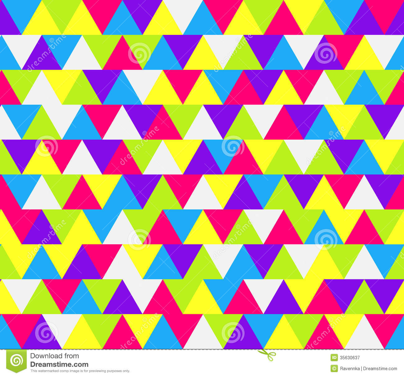 Seamless colorful triangle pattern for wallpaper  pattern fills  web    Triangle Pattern Wallpaper
