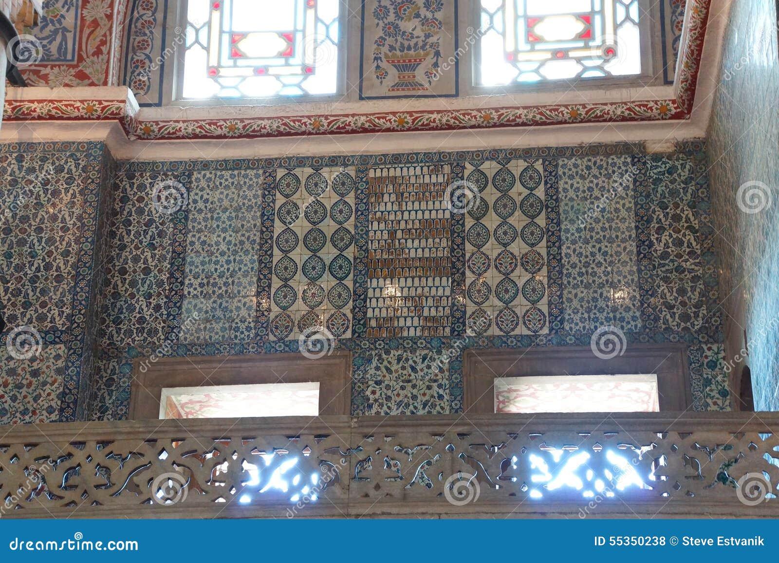 Mosaici complessi della moschea blu