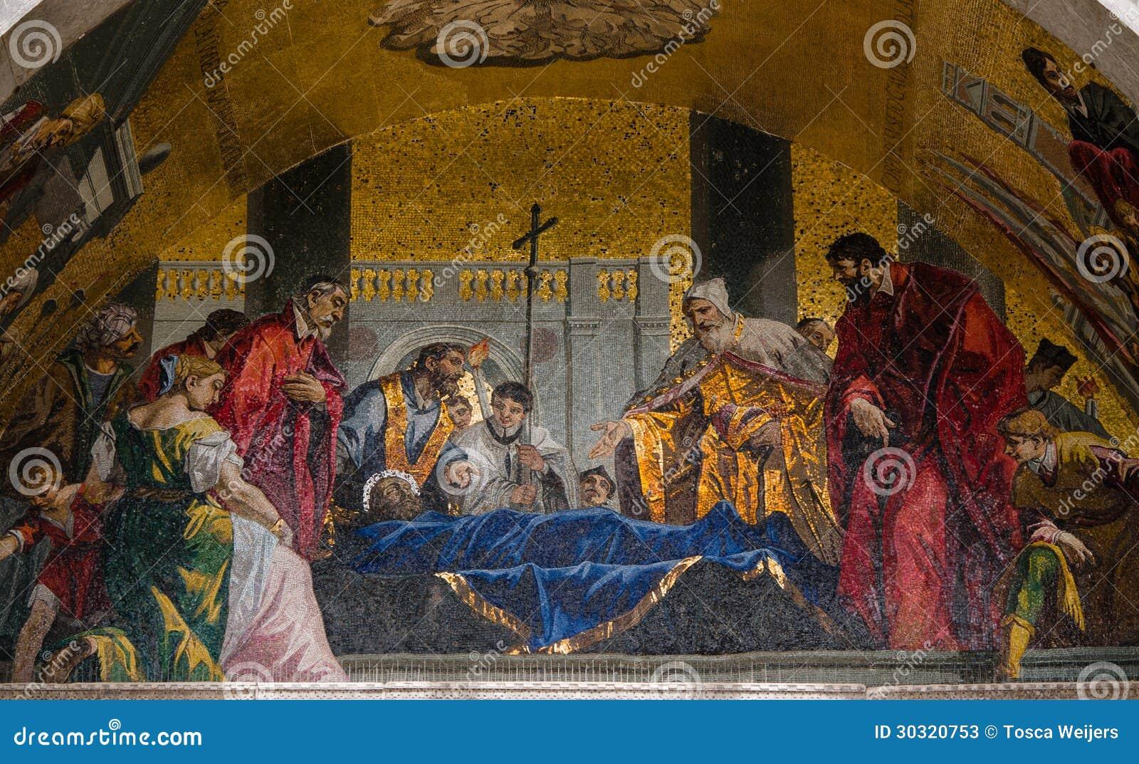 Mosaici della facciata alla cattedrale di st mark di for Esterno basilica di san marco