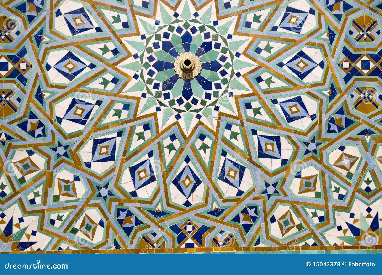 Mosaico rabe fotos de archivo libres de regal as imagen for Mosaico marroqui