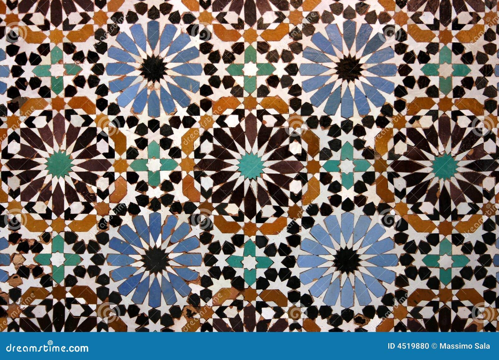 Mosaico árabe viejo
