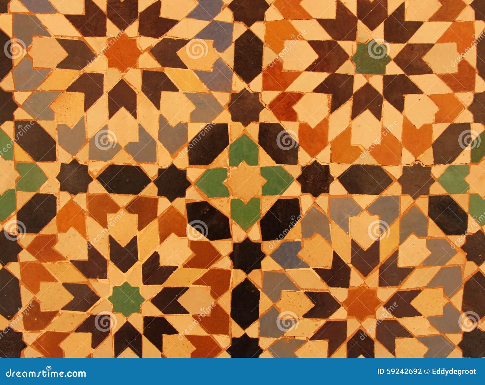 Download Mosaico foto de archivo. Imagen de suelo, fragmento, africano - 59242692